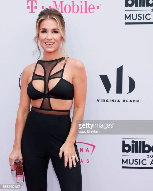 Jessie James Decker arrives at the 2017 Billboard Music Awards presented by Virginia Black at TMobile Arena on May 21 2017 in Las Vegas Nevada
