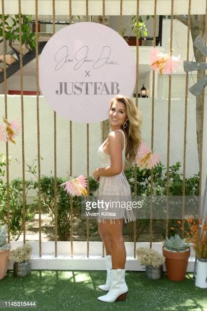 Jessie James Decker attends Boots Brunch by Jessie James Decker and JustFab at Avalon Hotel Palm Springs on April 26 2019 in Palm Springs California