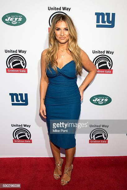 Jessie James Decker attends the 23rd Annual United Way Of New York City Gridiron Gala at the New York Hilton Midtown on May 10 2016 in New York New...