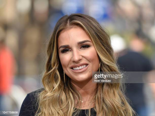 Jessie James Decker visits Extra at Universal Studios Hollywood on October 8 2018 in Universal City California