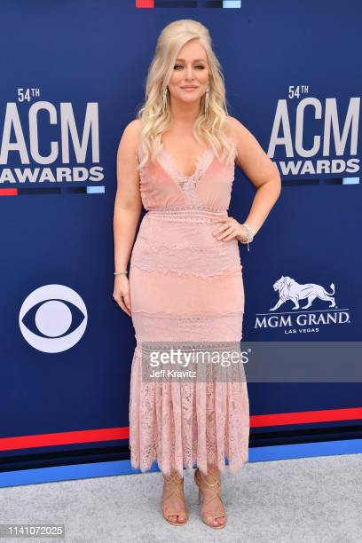 Jessie Jo Dillon attends the 54th Academy Of Country Music Awards at MGM Grand Hotel Casino on April 07 2019 in Las Vegas Nevada