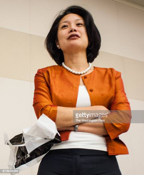 Jessie K Liu at a National Asian Pacific American Bar Association even in 2013 Liu was just named the US Attorney for the District of Columbia by the...