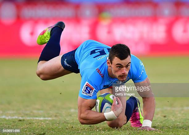 Jessie Kriel of the Bulls during the Super Rugby match between Vodacom Bulls and Sunwolves at Loftus Versfeld on July 09 2016 in Pretoria South Africa