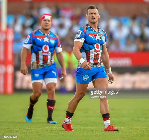 Jessie Kriel of the Vodacom Bulls during the Super Rugby match between Vodacom Bulls and DHL Stormers at Loftus Versfeld on February 16 2019 in...