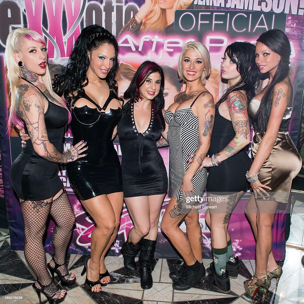 Jessie Lee, Rubber Doll, Joanna Angel, Kleio Valentien, Draven Starr And  Raven