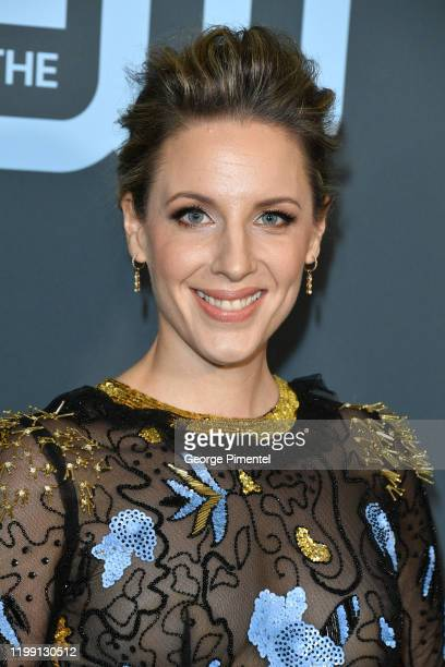Jessie Mueller attends the 25th Annual Critics' Choice Awards held at Barker Hangar on January 12 2020 in Santa Monica California