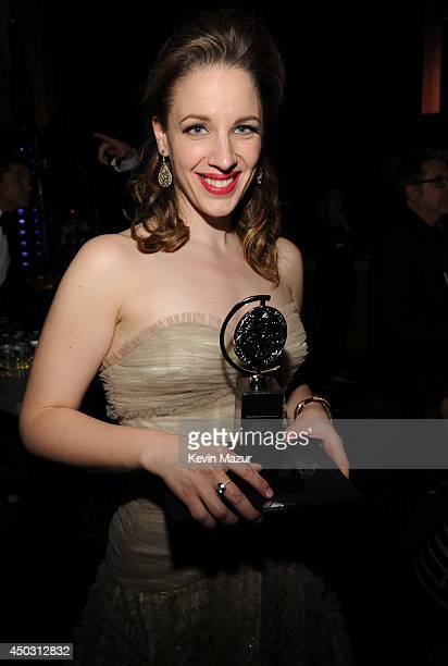 Jessie Mueller attends the 68th Annual Tony Awards at Radio City Music Hall on June 8 2014 in New York City