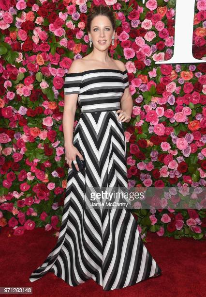 Jessie Mueller attends the 72nd Annual Tony Awards at Radio City Music Hall on June 10 2018 in New York City