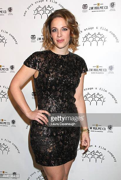 Jessie Mueller attends the New York Stage And Film 2014 Winter Gala at The Plaza Hotel on November 16 2014 in New York City