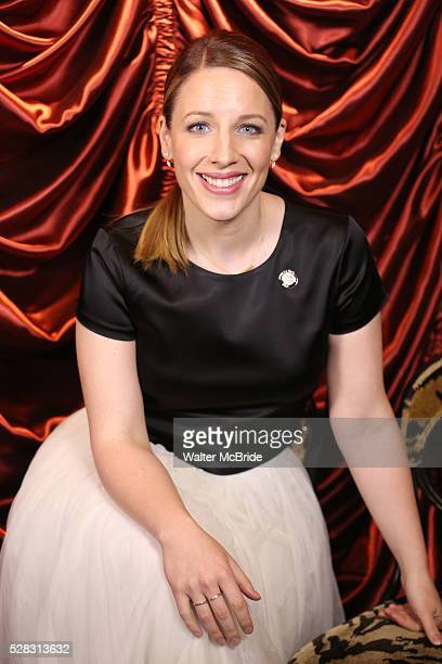 Jessie Mueller during the 2016 Tony Awards Meet The Nominees Press Reception at the Paramount Hotel on May 4 2016 in New York City