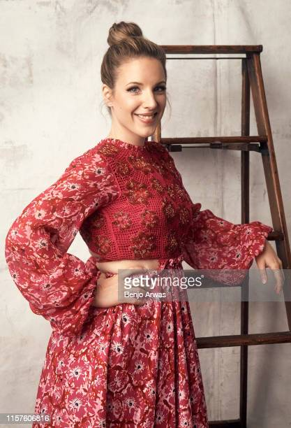 Jessie Mueller of Lifetime TV's 'Patsy Loretta' poses for a portrait during the 2019 Summer TCA Portrait Studio at The Beverly Hilton Hotel on July...