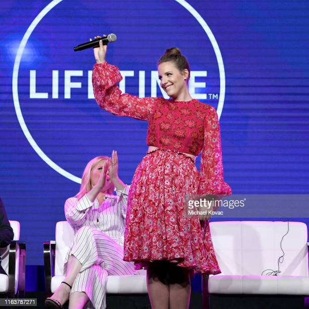 Jessie Mueller performs onstage during AE Networks Summer TCA 2019 at The Beverly Hilton Hotel on July 23 2019 in Beverly Hills California