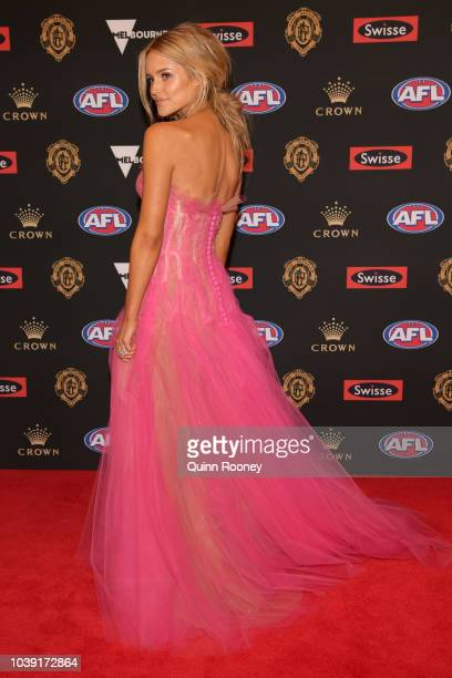 Jessie Murphy arrives ahead of the 2018 Brownlow Medal at Crown Entertainment Complex on September 24, 2018 in Melbourne, Australia.
