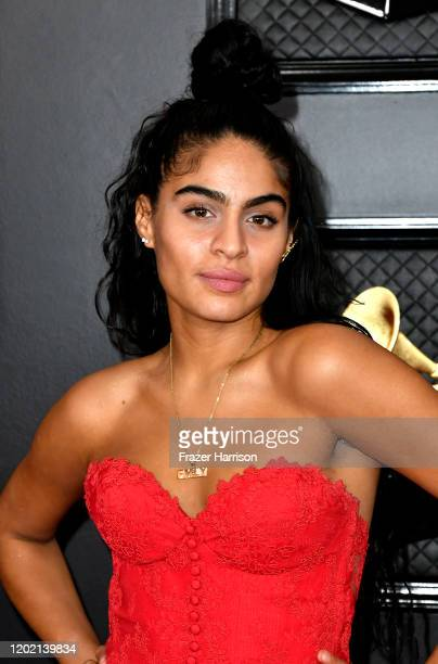 Jessie Reyez attends the 62nd Annual GRAMMY Awards at STAPLES Center on January 26 2020 in Los Angeles California