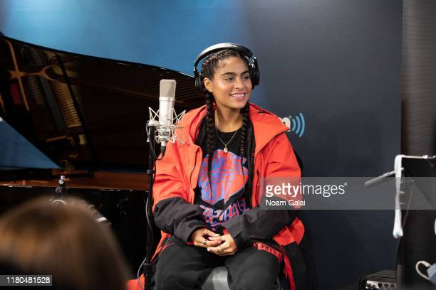 Jessie Reyez performs live on SiriusXM's The Heat Channel at SiriusXM Studios on October 11 2019 in New York City
