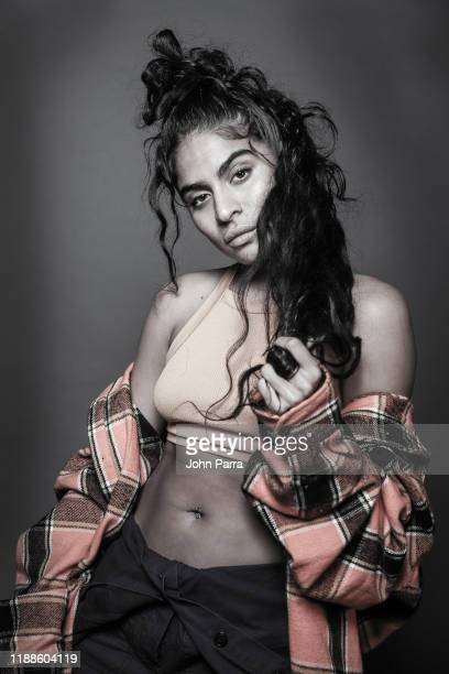 Jessie Reyez poses for a portrait during her visit at La Musica Studio on November 18 2019 in Miami Florida