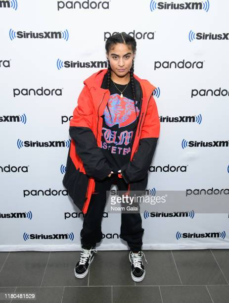 Jessie Reyez visits SiriusXM's The Heat Channel at SiriusXM Studios on October 11 2019 in New York City