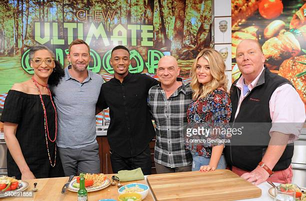 THE CHEW Jessie T Usher and Pati Jinich are guests on The Chew airing Thursday June 23 2016 on the Walt Disney Television via Getty Images Television...