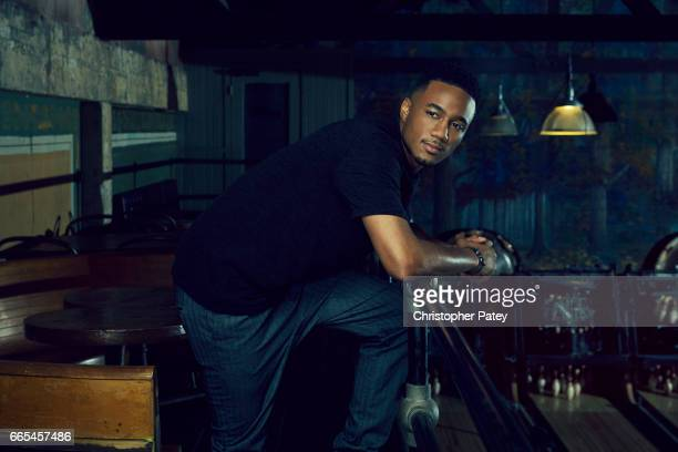 Jessie T Usher is photographed for The Hollywood Reporter on October 14 2016 in Los Angeles California Published Image
