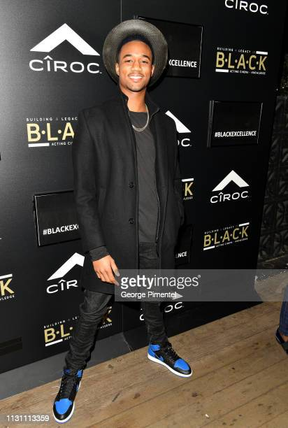 Jessie Usher attends The Annual Black Ball powered by Cîroc Black Raspberry and Don Julio on February 20 2019 in Los Angeles California