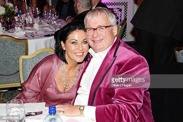 Jessie Wallace and Christopher Biggins attend the Amy Winehouse Foundation Gala at The Savoy Hotel on October 15 2015 in London England