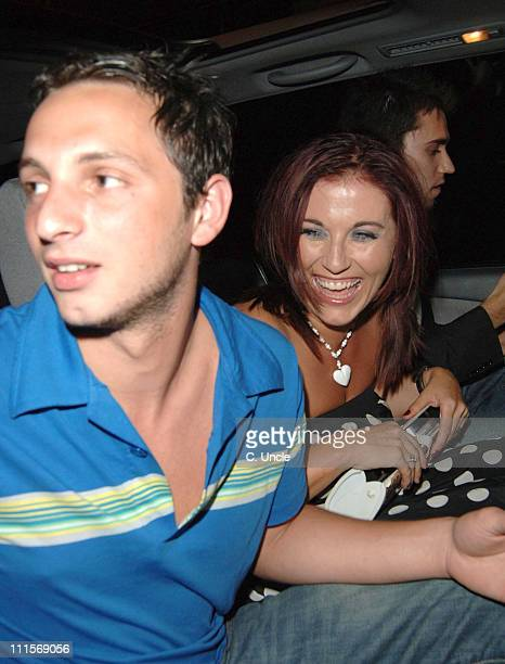 Jessie Wallace and guests during Tim Wade Party July 13 2005 at Mo'Vida in London Great Britain