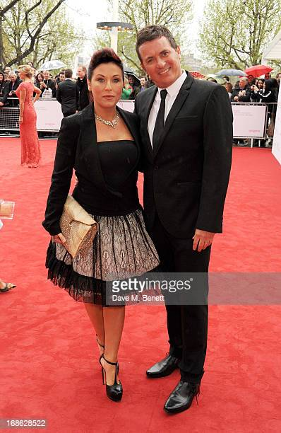 Jessie Wallace and Shane Richie attend the Arqiva British Academy Television Awards 2013 at the Royal Festival Hall on May 12 2013 in London England