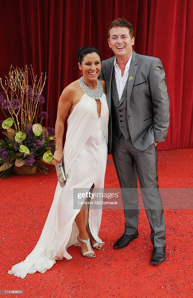 Jessie Wallace and Shane Richie attend 'The British Soap Awards' at Granada Television Studios on May 14, 2011 in Manchester, England.