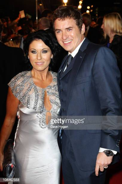 Jessie Wallace and Shane Richie attend the National Television Awards 2011 held at Indigo at The O2 Arena on January 26 2011 in London England