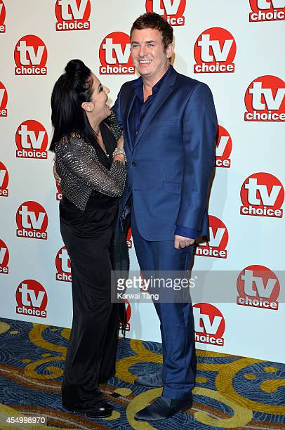 Jessie Wallace and Shane Richie attend the TV Choice Awards 2014 at London Hilton on September 8 2014 in London England
