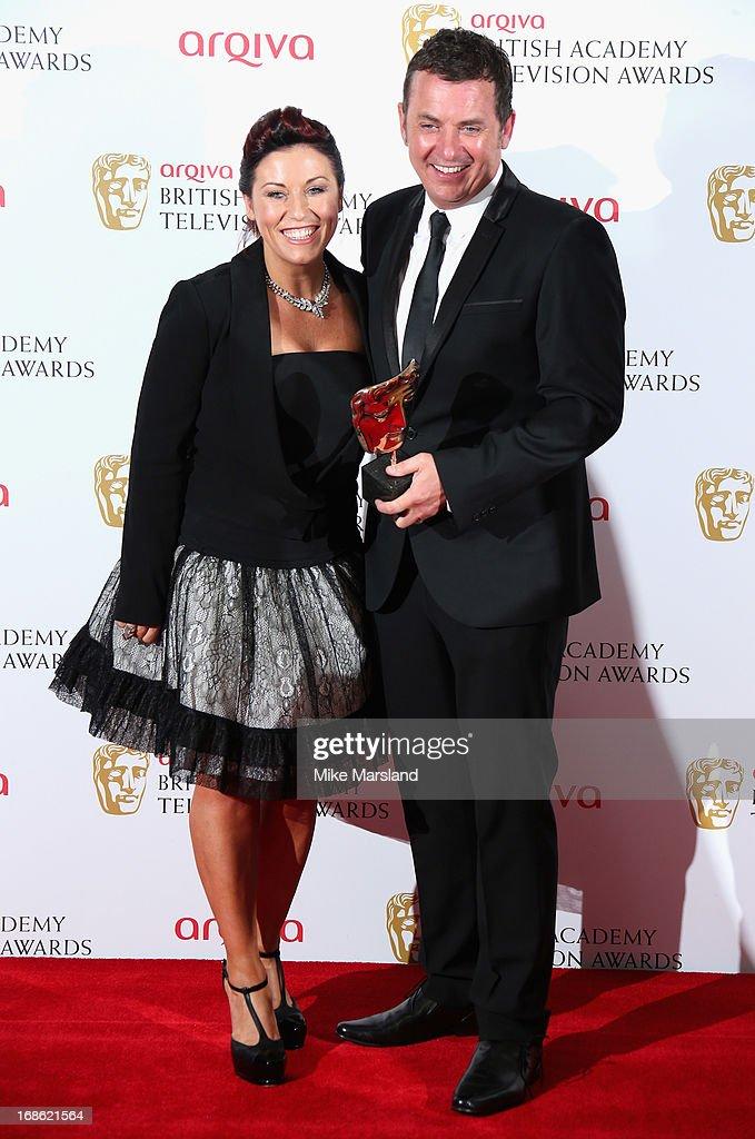 Arqiva British Academy Television Awards 2013 - Press Room