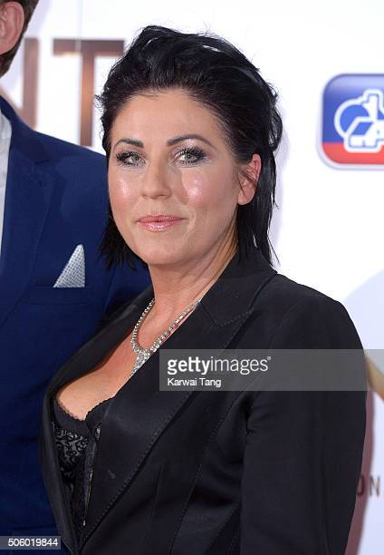 Jessie Wallace attends the 21st National Television Awards at The O2 Arena on January 20 2016 in London England