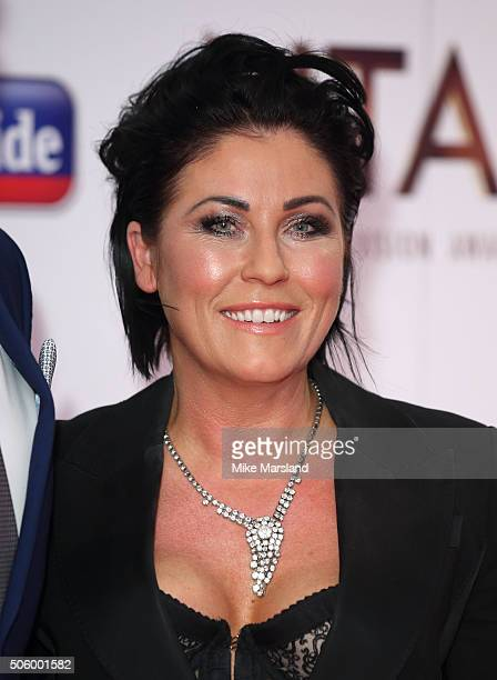 Jessie Wallace attends the 21st National Television Awards Winners Room at The O2 Arena on January 20 2016 in London England