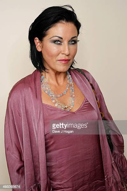 Jessie Wallace attends the Amy Winehouse Foundation Gala at The Savoy Hotel on October 15 2015 in London England