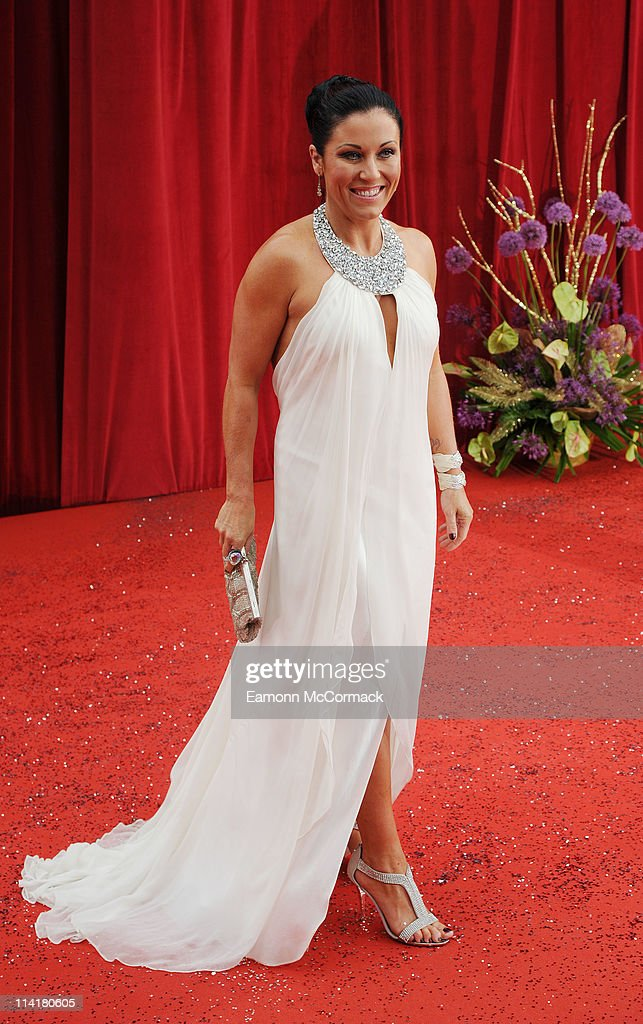 Jessie Wallace attends 'The British Soap Awards' at Granada Television Studios on May 14, 2011 in Manchester, England.