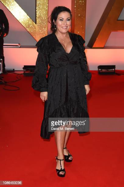 Jessie Wallace attends the National Television Awards held at The O2 Arena on January 22 2019 in London England