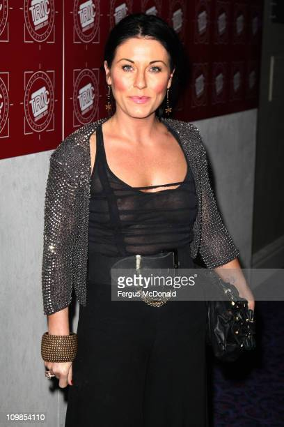 Jessie Wallace attends the TRIC Awards 2011 held at Grosvenor House on March 8 2011 in London England
