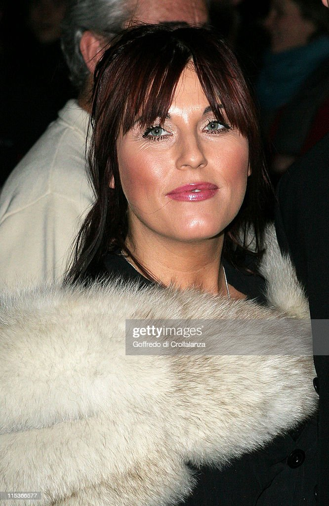 Jessie Wallace during Cirque du Soleil's 20th Anniversary of 'Dralion' at Royal Albert Hall in London, Great Britain.