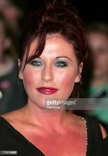 Jessie Wallace during National Television Awards 2005 at Royal Albert Hall London in London United Kingdom