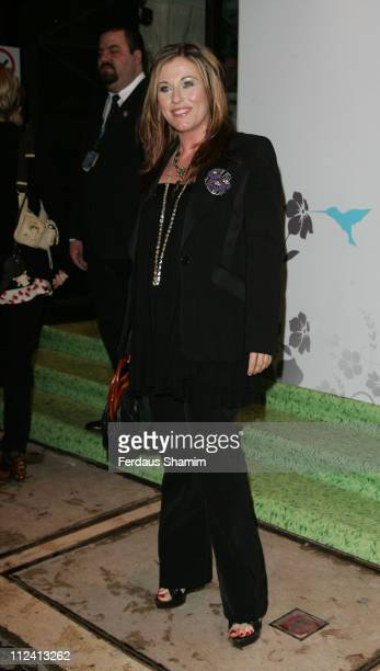 Jessie Wallace during The BlackBerry Curve 8300 Party Red Carpet Arrivals at Kensington Roof Gardens in London United Kingdom