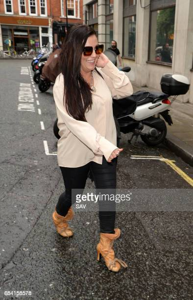 Jessie Wallace sighting at BBC Radio 2 on May 17 2017 in London England