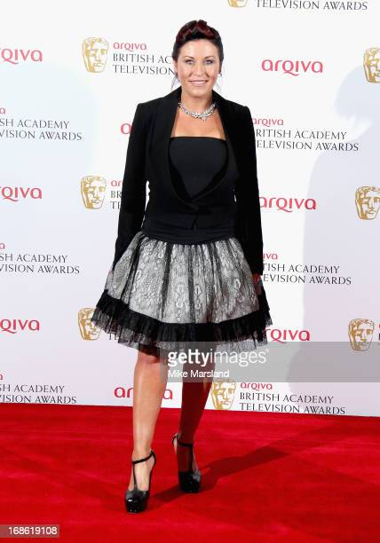 Jessie Wallace who collected the Best Soap award for Eastenders during the Arqiva British Academy Television Awards 2013 at the Royal Festival Hall...