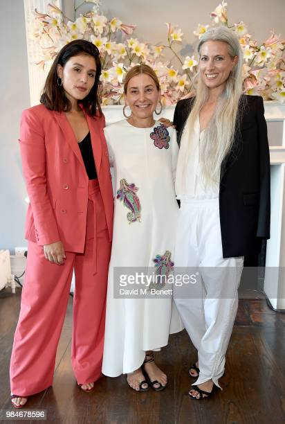 Jessie Ware Amy Smilovic and Sarah Harris attend as TIBI celebrates its 21st Birthday with a dinner in London cohosted by Founder and Creative...