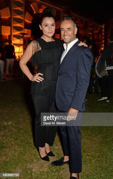 Jessie Ware and Francisco Costa Women's Creative Director of Calvin Klein Collection attend the IFP Calvin Klein Collection euphoria Calvin Klein...