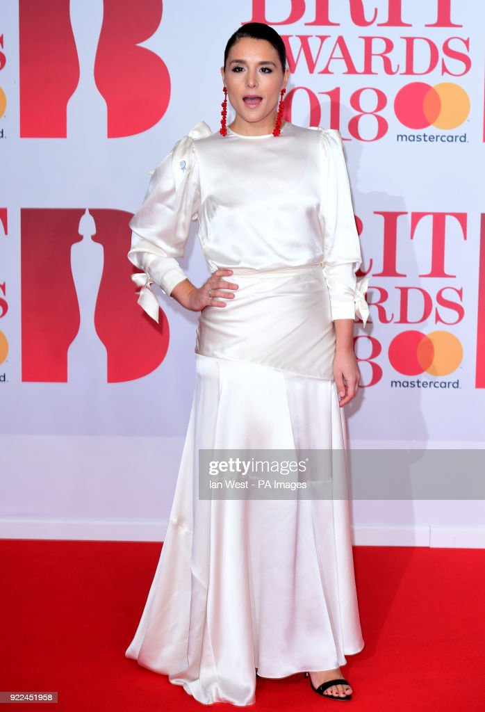 Brit Awards 2018 - Arrivals - London : Photo d'actualité
