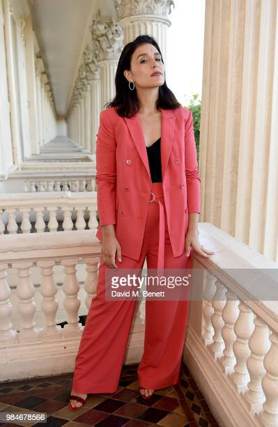 Jessie Ware attends as TIBI celebrates its 21st Birthday with a dinner in London cohosted by Founder and Creative Director Amy Smilovic and British...