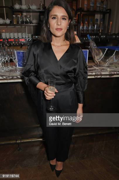 Jessie Ware attends Grey Goose Vodka and GQ Style's dinner in celebration of film and fashion at Kettner's on February 16 2018 in London England