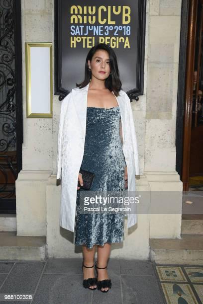 Jessie Ware attends Miu Miu 2019 Cruise Collection Show at Hotel Regina on June 30 2018 in Paris France