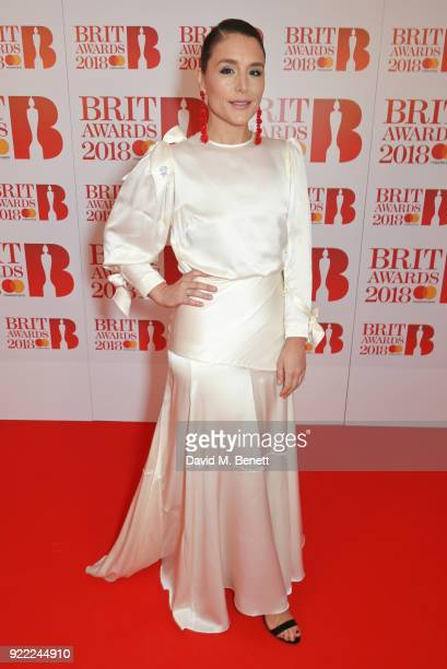 AWARDS 2018 *** Jessie Ware attends The BRIT Awards 2018 held at The O2 Arena on February 21 2018 in London England