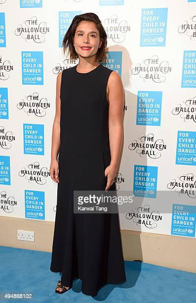 Jessie Ware attends the UNICEF Halloween Ball at One Mayfair on October 29 2015 in London England